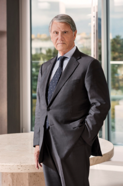 Gianluigi Aponte is the founder, owner and chairman of Mediterranean Shipping Company.