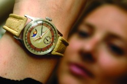 A 1929 Patek Philippe, valued at $1.5 million by Sotheby's