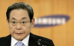 Lee Kun-hee, chairman of Samsung Electronics, has seen his stock rise in value by around 25%
