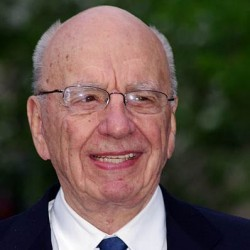 Rupert Murdoch, chariman and chief executive of New Corp
