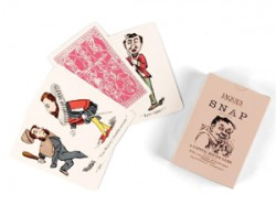Card games by Jaques of London – Snap and Happy Families